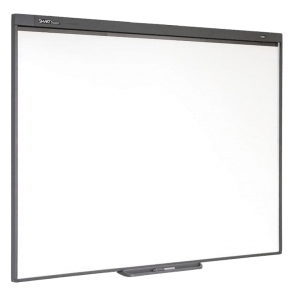 <h4>Kit pizarra interactiva <br>SMART Board SB480 <br>+ proyector Optoma X305ST</h4>