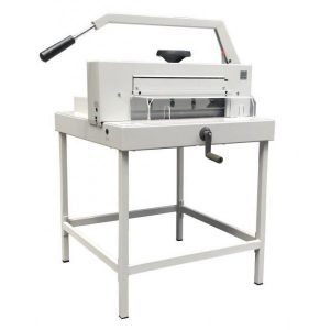 <h4>Guillotina manual M31 INT 4980 DIGITAL. Ancho corte: 485 mm. Longitud corte: 430 mm.</h4>